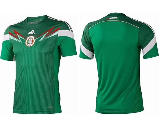 Форма сборной Мексики 2014