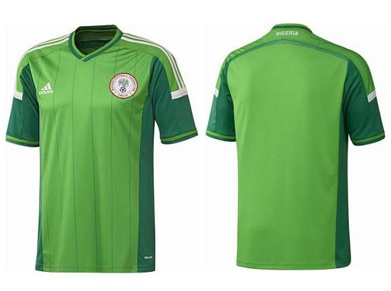 Форма сборной Нигерии 2014