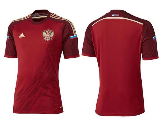 Форма сборной России по футболу 2014