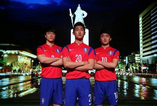 Форма сборной Южной Кореи