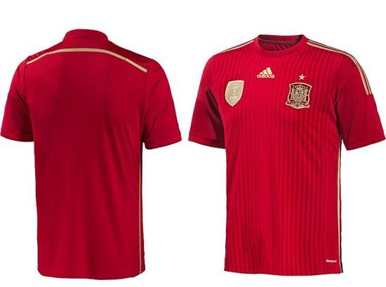 Форма сборной Испании 2014