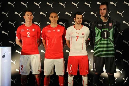 Форма сборной Швейцарии 2014