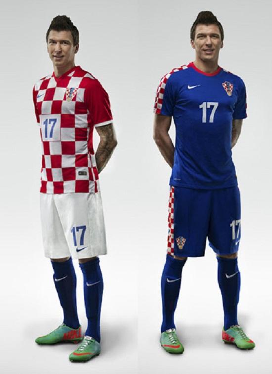 Форма сборной Хорватии 2014