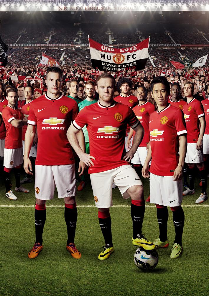 Форма Манчестер Юнайтед на сезон 2014-2015