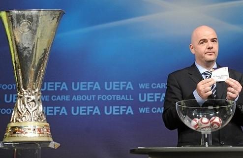 Жеребьевка Лиги Европы 1/8 финала 2014-2015