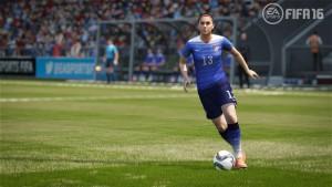 Впервые в истории серии в FIFA 16 будут представлены 12 женских национальных сборных.