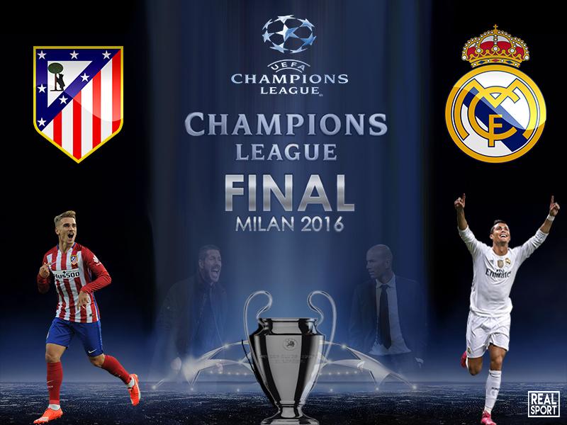 Прогноз на матч «Реал» - «Атлетико» 28 мая 2016 года