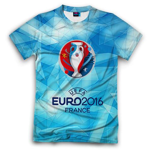 3D футболка Евро 2016