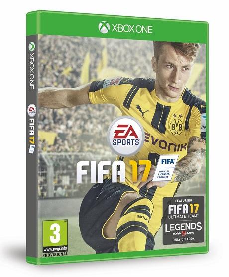 Марко Ройс - лицо FIFA 17