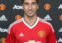 Генрих Мхитарян подписал контракт с «Манчестер Юнайтед»