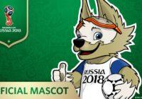 Волк - талисман ЧМ-2018
