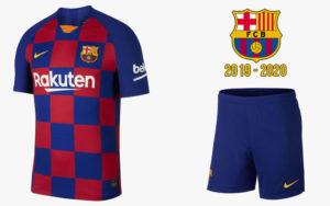 """Форма """"Барселоны"""" 2019/2020"""