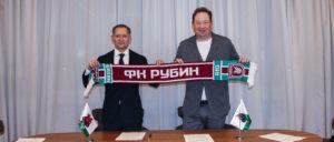 Леонид Слуцкий подписал 5-летний контракт с «Рубином»